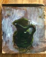 little green pitcher